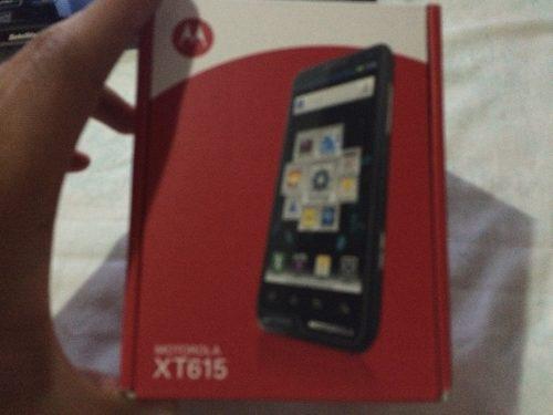 Motorola Xt615 Libre $1700 Con Envio.color Negro.