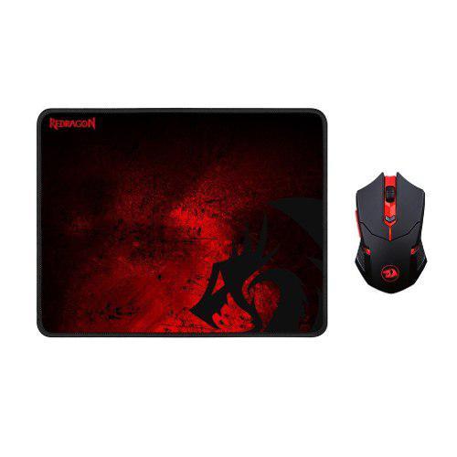 Ratón Inalámbrico Para Juegos Plus Gaming Mouse Pad Grande