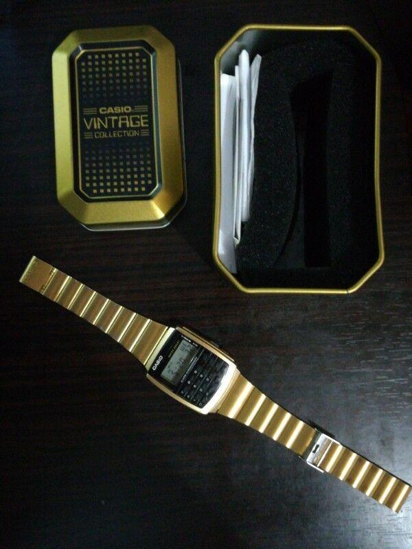 Reloj Casio Vintage con calculadora