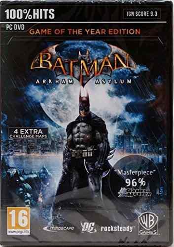Videojuego Pc Batman: Arkham Asylum Edición
