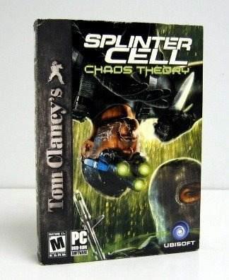 Videojuego Pc Cell De Splinter Tom Clancy: Teoría Del Caos
