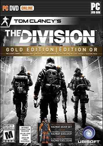 Videojuego Pc La División De Tom Clancy Edición Oro