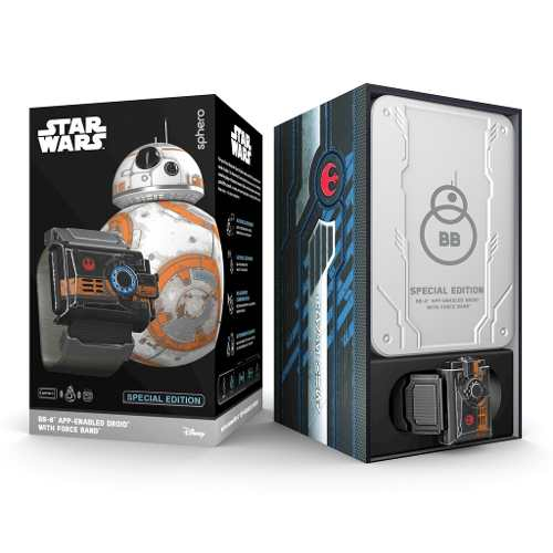 Bb8 Sphero Droide Robot + Force Band Star Wars Android Ios