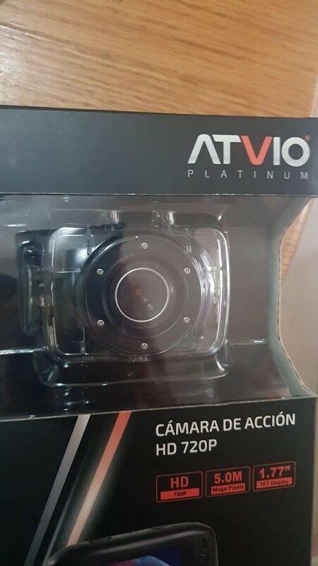 Cámara de acción HD Tipo GoPro para Motos o Coches