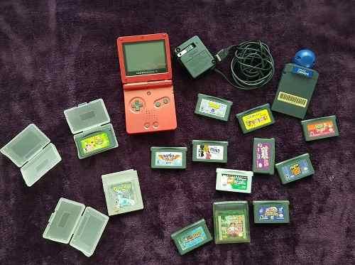 Game Boy Advance + 14 Juegos Originales