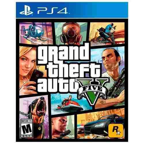 Grand Theft Auto V 5 Ps4 Playstation Nuevo Sellado Original