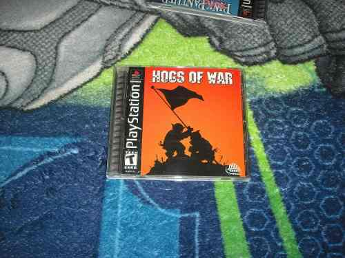 Hogs Of War Muy Buen Estado Ps1