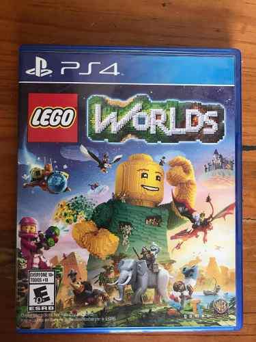 Lego Worlds, Como Nuevo, Videojuego Playstation 4