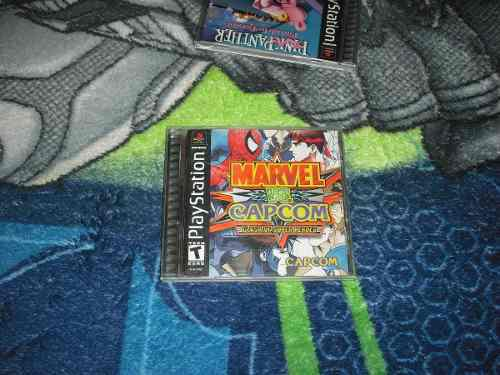 Marvel Vs Capcom 1 Muy Buen Estado Ps1