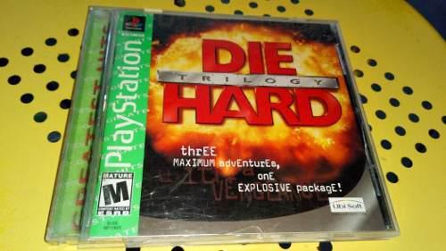 Playstation Die Hard Trilogy Gh Original En Buen Estado