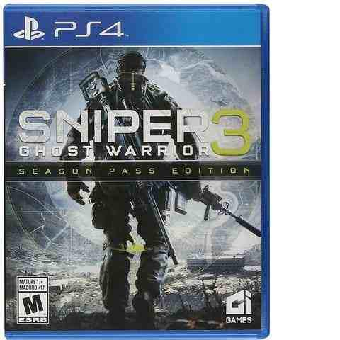 Ps4 Juego Sniper 3 Ghost Warrior Season Pass Playstation 4