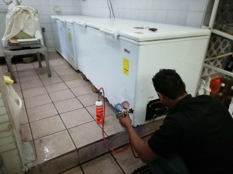 Reparación de refrigeradores y neveras congeladoras.