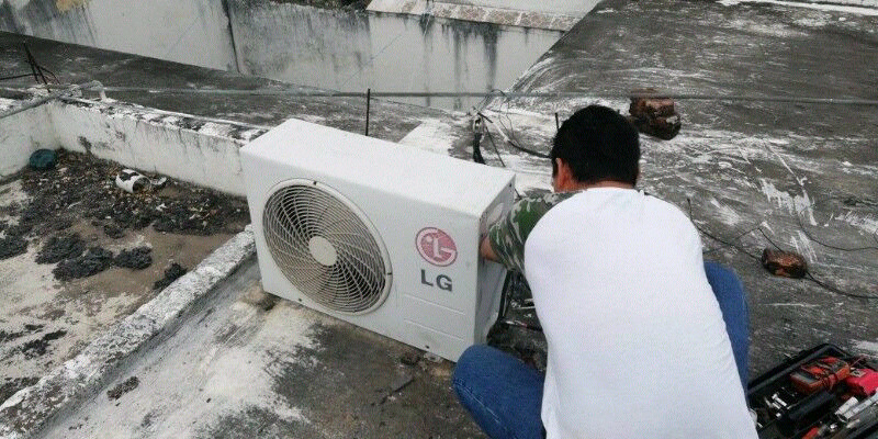 Reparacion y instalacion de minisplit. Y climas de ventana