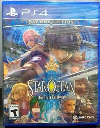 Star Ocean Integrity And Faithlessness.-ps4