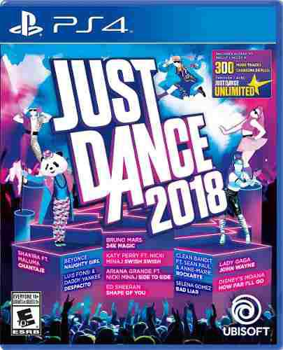 Videojuego Just Dance 2018 Play Station 4 Ibushak Gaming