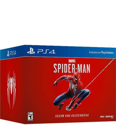 Videojuego Spiderman Ps4 Edición De Coleccion Nuevo