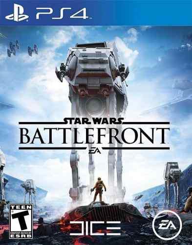 Videojuego Star Wars Battlefront Para Playstation 4