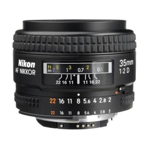Lente Nikon Ancho Ángulo Af Nikkor 35mm F / 2 D