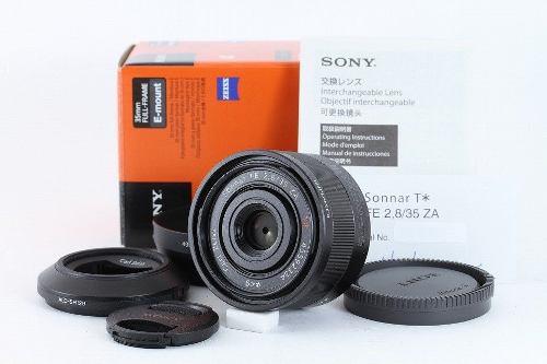 Lente Sony 35mm F2.8 Fe Za Carl Zeiss Full Frame