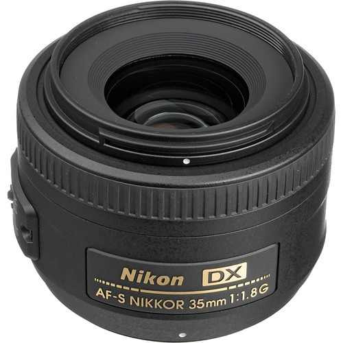 Nikon Af-s Dx Nikkor 35mm F/1.8g - (ml)
