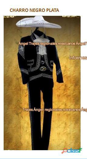 alquiler trajes de charro bodas xv años fiestas patrias