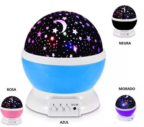 Lampara Proyector De Estrellas Luz Led 4 Colores Envio Grati