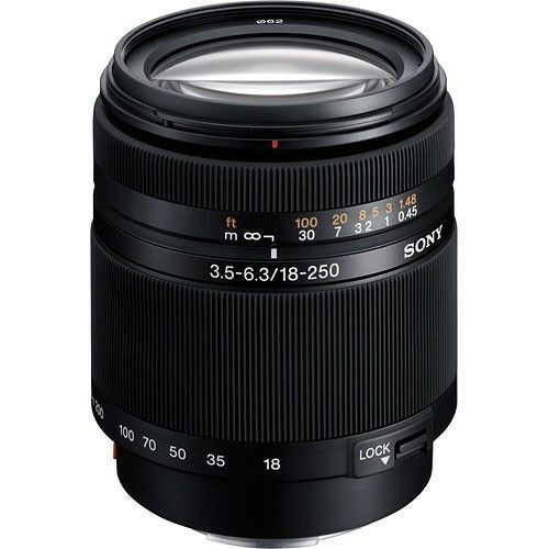 Sony SAL Alpha DT  mm f /  Lente de zoom