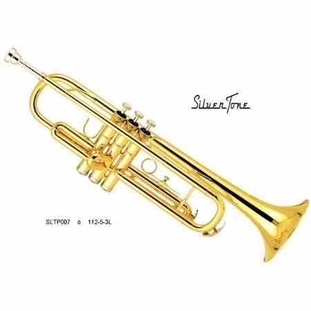 Trompeta Silvertone Sltp007 Con Estuche Y Boquilla Gratis
