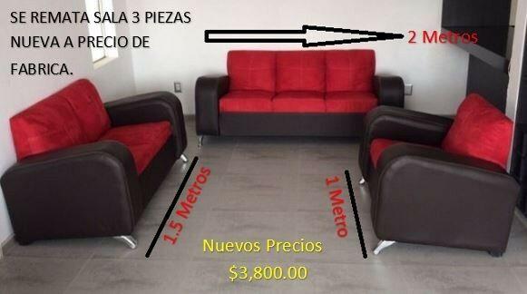 se venden salas totalmente nuevas a precio de fabrica