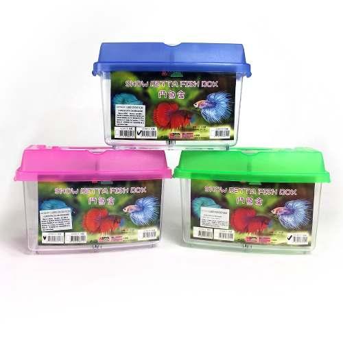 Betta Habitat Color Azul, Rosa Y Verde Azoo Acuario
