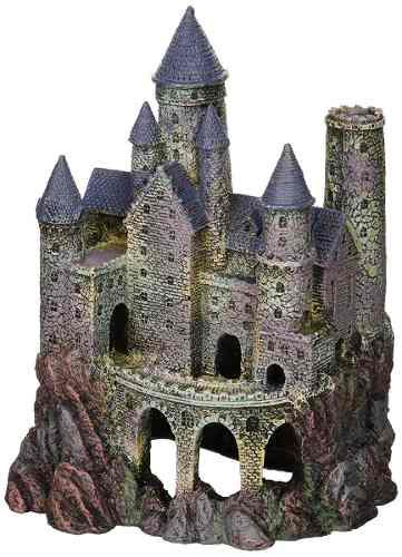 Decoración Para Acuario, Diseño Wizard's Castle, Talla