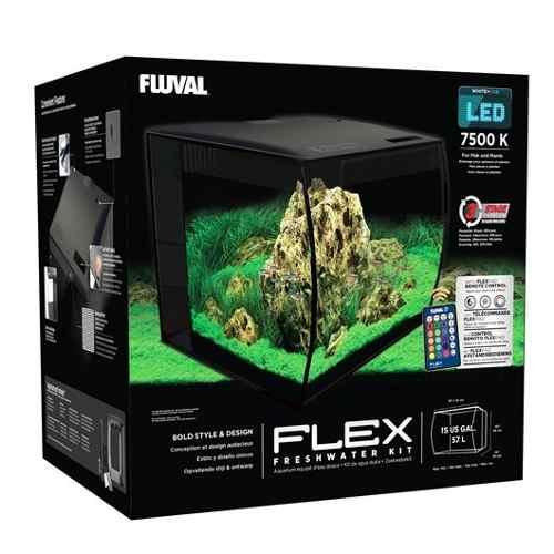Kit Fluval Flex 57lt Acuario