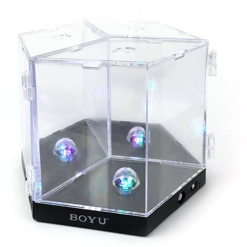 Triple Mini Acuario Betta Boyu Con Luz 1lt