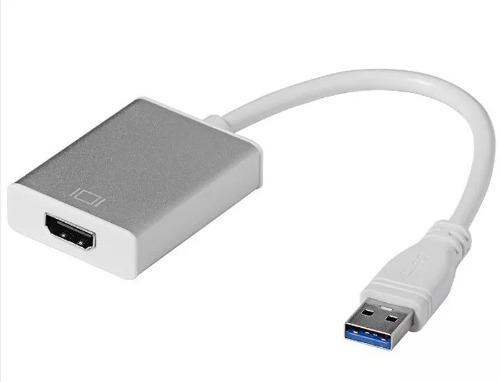Adaptador Convertidor Usb 3.0 A Hdmi Full Hd 1080p Win7 8 10
