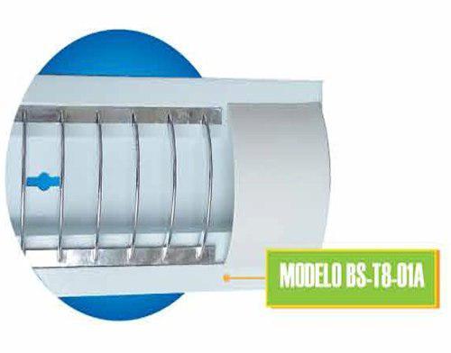 Gabinete Con Tubo Led Incluido 18w T8 Lampara Foco Candil