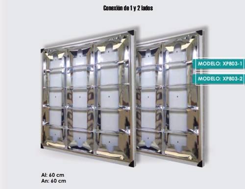 Gabinete Empotrable 60x60 Empotrable Solo Para T8 Led