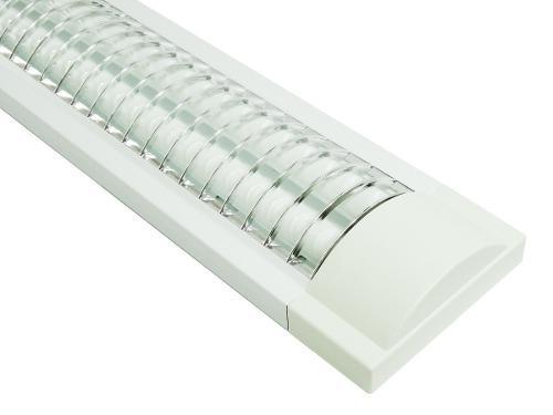 Gabinete Fluorescente T8, Lumistar, Pack4 Fl232-bg Sobrepone