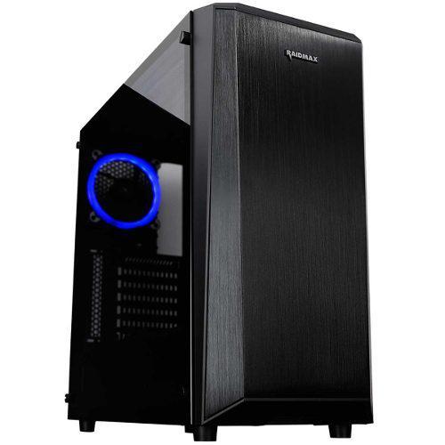 Gabinete Gamer Raidmax Delta Prime Rgb Cristal Templado
