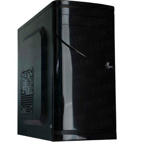 Gabinete Pc Xtech Xtq-110 Micro Atx Con Fuente De 500w Negro