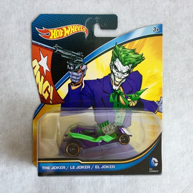 Hot Wheels DC Comics The Joker