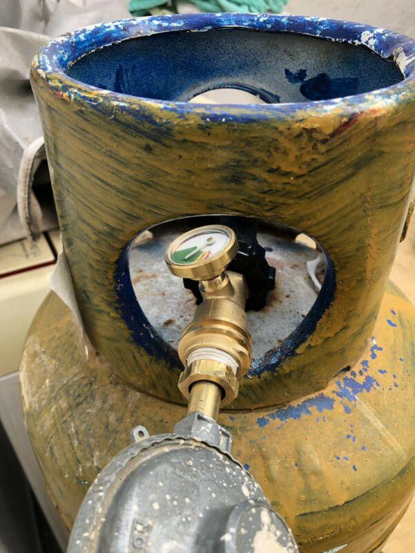 Medidor de gas lp cilindro  kg