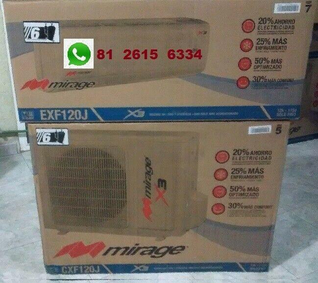 Minisplits Mirage x3 de 2-ton frio/calor n