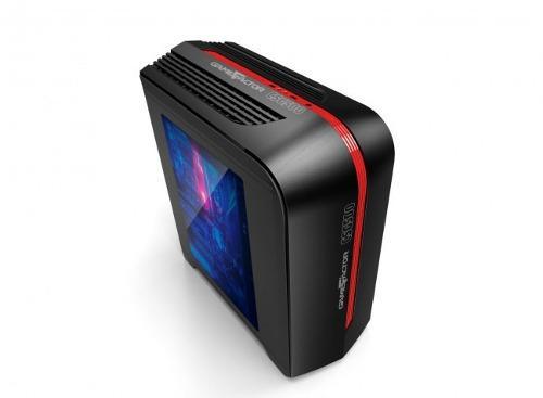 Msi Gabinete Gamefactor Csg500 Matx Negro/rojo Csg500