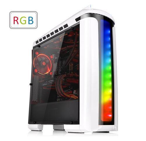 Msi Gabinete Thermaltake Versa C22 Blanco Atx Rgb Ca-1g9-00m