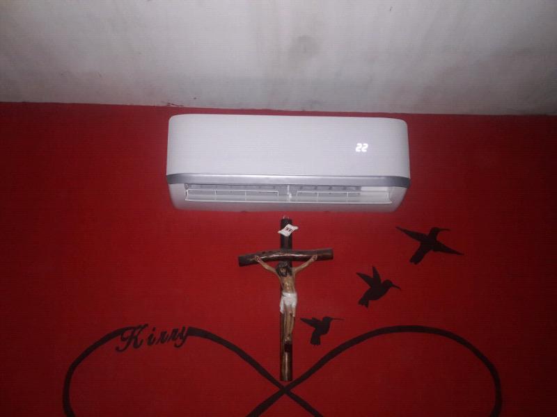 instalacion de minisplit y boiler de paso
