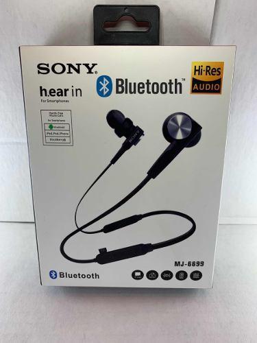 Audífonos Bluetooth Sony Recargables In Ear Tipo Cuello