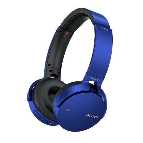 Audífonos Sony Mdrxb650bt Bluetooth, Extra Bass Azul