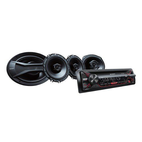 Auto Estéreo Sony De Cd Con Bocinas De 16cm (6 X 9)