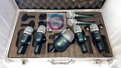 Batería Kit Set Micrófonos 7 Piezas Dmk7 Drum C/envio