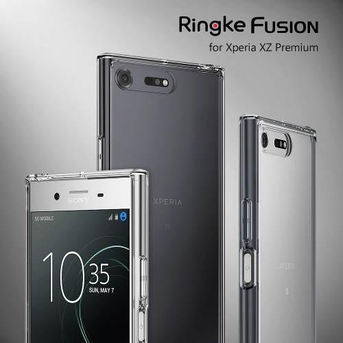 Case Funda Bumper Ringke Fusion Para Sony Xperia Xz Premium